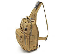 Рюкзак тактический однолямочный Койот