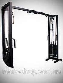Тренажер кроссовер (блочная рамка, силовой тренажер)
