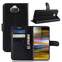 Чохол-книжка Litchie Wallet для Sony Xperia 10 Plus Чорний