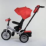 Велосипед  трехколесный Best Trike 9288 В- 3696 ,фара ,поворотное сиденье, складной  руль, фото 3
