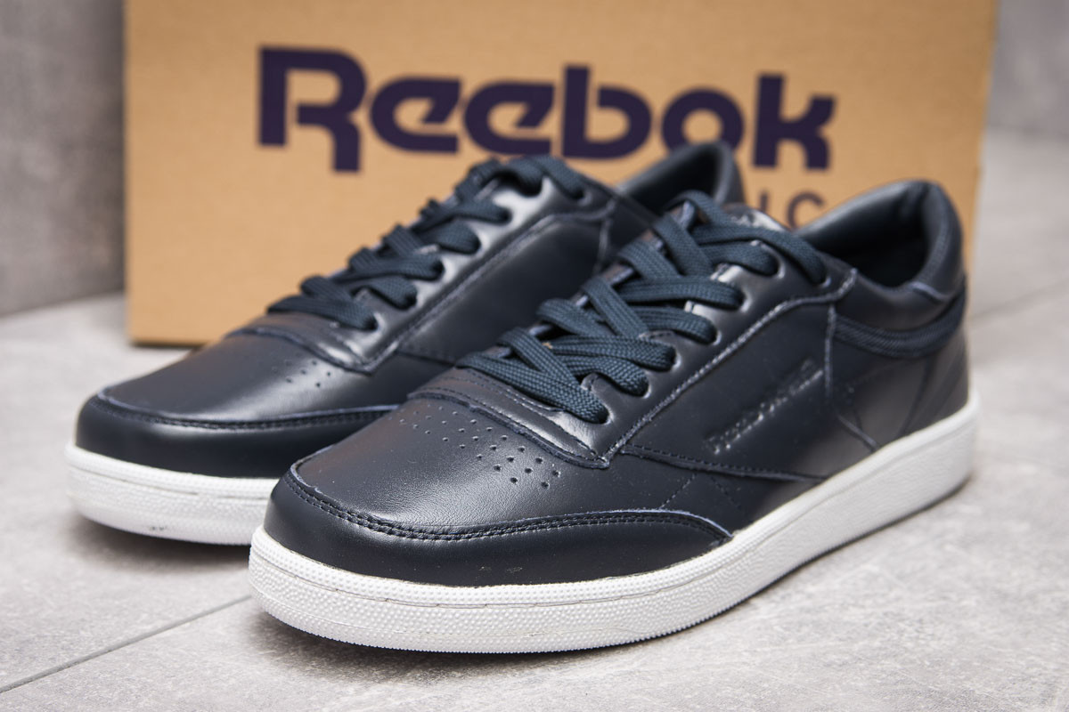 Кроссовки мужские Reebok Classic, темно-синие (13872) размеры в наличии ► [  44 (последняя пара)  ]