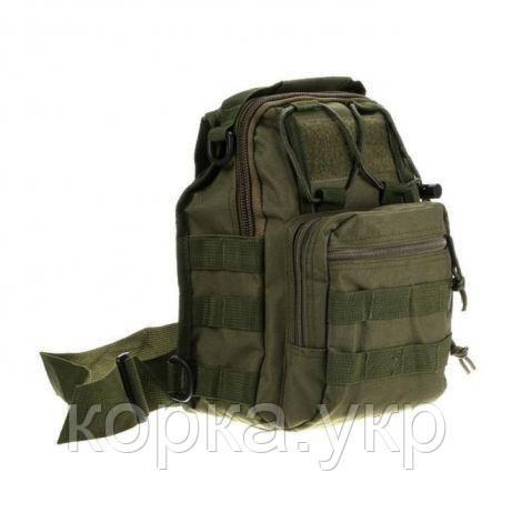 Рюкзак тактический однолямочный Олива