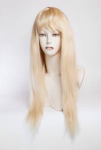 Натуральный парик №6, цвет классический блонд