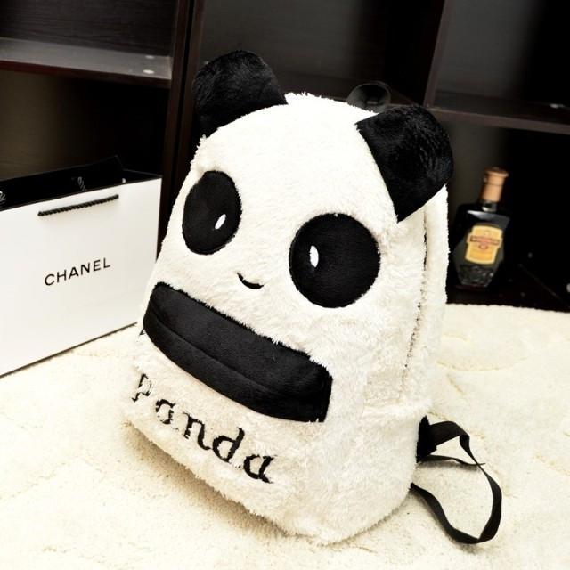 Молодежный рюкзак. Рюкзак панда. Рюкзак школьный. Недорогой рюкзак. Код:КРСК106