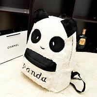 Молодежный рюкзак. Рюкзак панда. Рюкзак школьный. Недорогой рюкзак. Код:КРСК106, фото 1