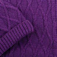 Набор шапка, шарф SVTR 1 Темно-сиреневый 2-й комплект, КОД: 186426