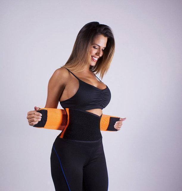 Пояс для похудения Hot Shapers Power Belt / Хот Шейперс утягивающий неопреновый, размер L