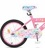 Детский велосипед Profi Butterfly 2 L20131, 20 дюймов, с подножкой, розовый, фото 3
