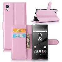 Чехол-книжка Litchie Wallet для Sony Xperia XA1 G3112 G3121 Светло-розовый