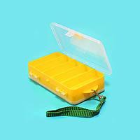 Коробка рыболов. пласт. Salmo двухстор. 190х110х48 (1500-83)