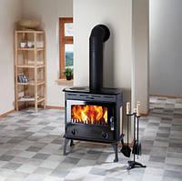 Отопительная печь камин на дровах Haas+Sohn Umea
