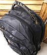 Спортивный, прогулочный прочный рюкзак копия Swissgear, USB-порт, аудиопорт, защитный чехол, фото 2