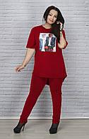 Модный женский костюм супер батал, фото 1