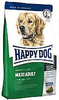 Корм для собак Happy Dog (Хэппи Дог) F&W Maxi Adult для крупных пород, 15кг