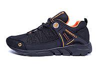 Мужские летние кроссовки сетка   Merrell   Black (реплика), фото 1