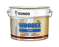 Кроющий антисептик Teknos WOODEX SOLID, Б3 9 л