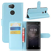 Чехол-книжка Litchie Wallet для Sony Xperia XA2 H4113 / H4133 Голубой