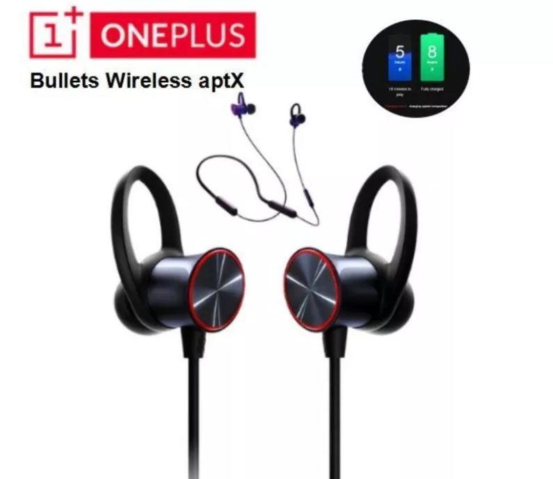 Беспроводные наушники OnePlus Bullets Wireless AptX