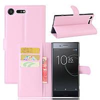 Чехол-книжка Litchie Wallet для Sony Xperia XZ Premium G8142 / G8141 Светло-розовый, фото 1