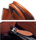Модная женская сумка шоппер. Сумка тоут женская классическая (черная), фото 8