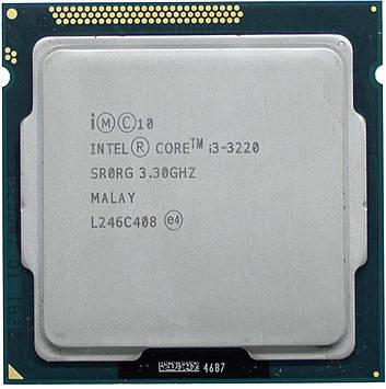Процессор Intel Core i3-3220 3.30GHz/3M/5GT/s (SR0RG) s1155, tray