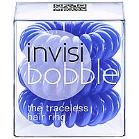 Резинка - браслет Invisi Bobble Синяя