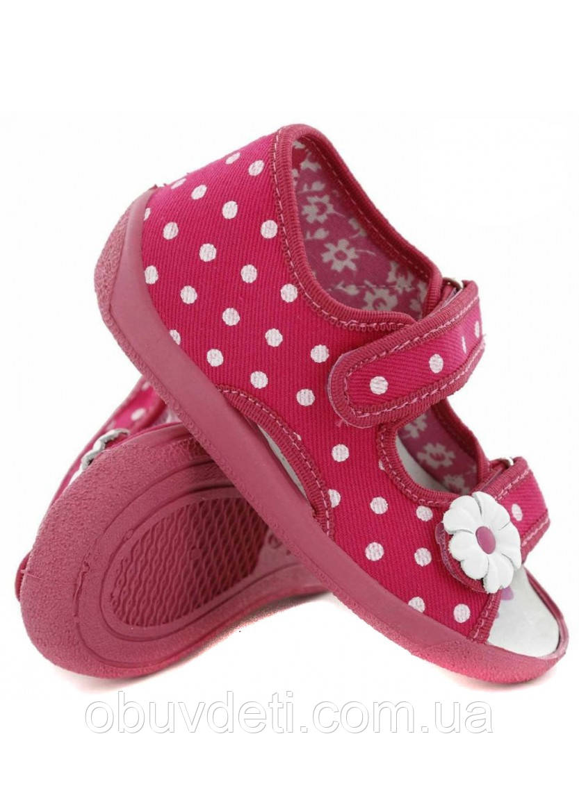 Тапочки-босоніжки для дівчинки RenBut 24 15,5 см