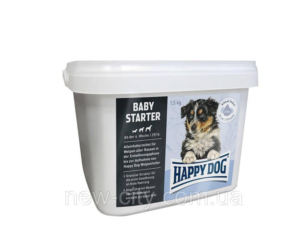 Корм для щенков Happy Dog (Хэппи Дог) BABY STARTER от 4 до 6 недель, 4 кг