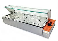 Мармит-витрина GN 1/2 х h100 мм GoodFood BM3G