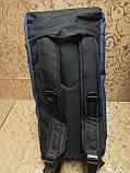 (26*53)Дорожная сумка-рюкзак reebok Хорошее качество мессенджер многофункциональный только оптом, фото 5