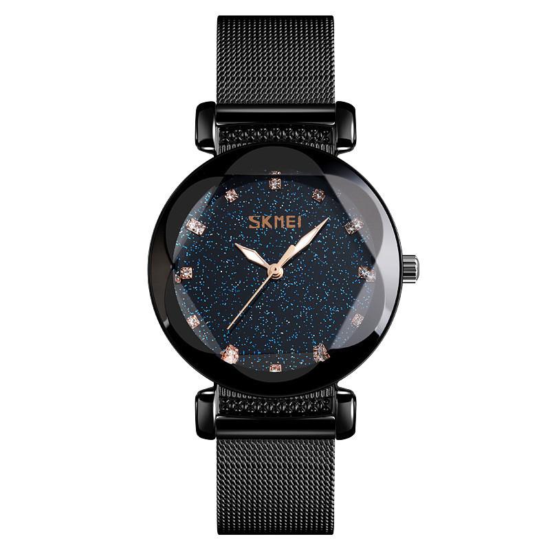 Skmei 9188 arrogant черные женские  часы