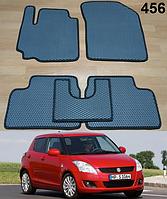 Коврики на Suzuki Swift '10-17. Автоковрики EVA, фото 1