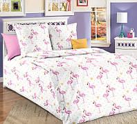 """Комплект постельного белья """"Розовые Фламинго"""""""