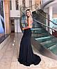 Женское силуэтное платье макси со стразами в расцветках. ВЛ-2-1218, фото 3