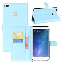 Чехол-книжка Litchie Wallet для Xiaomi Mi Max 2 Голубой
