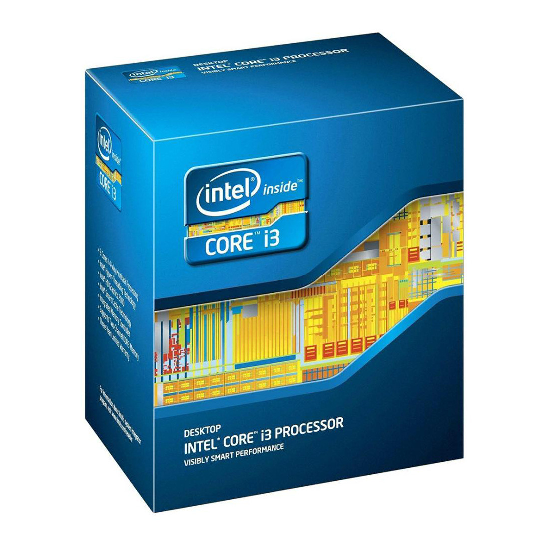 Процессор INTEL Core™ i3 3220 3.30GHz/3M/5GT/s (BX80637I33220) s1155, BOX