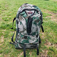 Рюкзак туристический 60 л камуфляж, фото 1