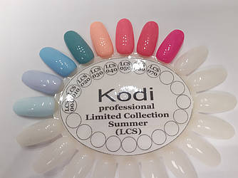 Палитра Kodi LIMITED COLLECTION SUMMER, (LCS) 8 мл