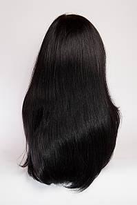 Натуральный парик №7, цвет черный