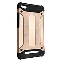 Чехол-накладка SGP Spigen силикон с пластиком Carbon Armor для Xiaomi 4A  (rose gold)