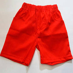 Летние детские шорты на резинке, трикотаж, унисекс, размеры 92-116 см (5 ед. в уп.)