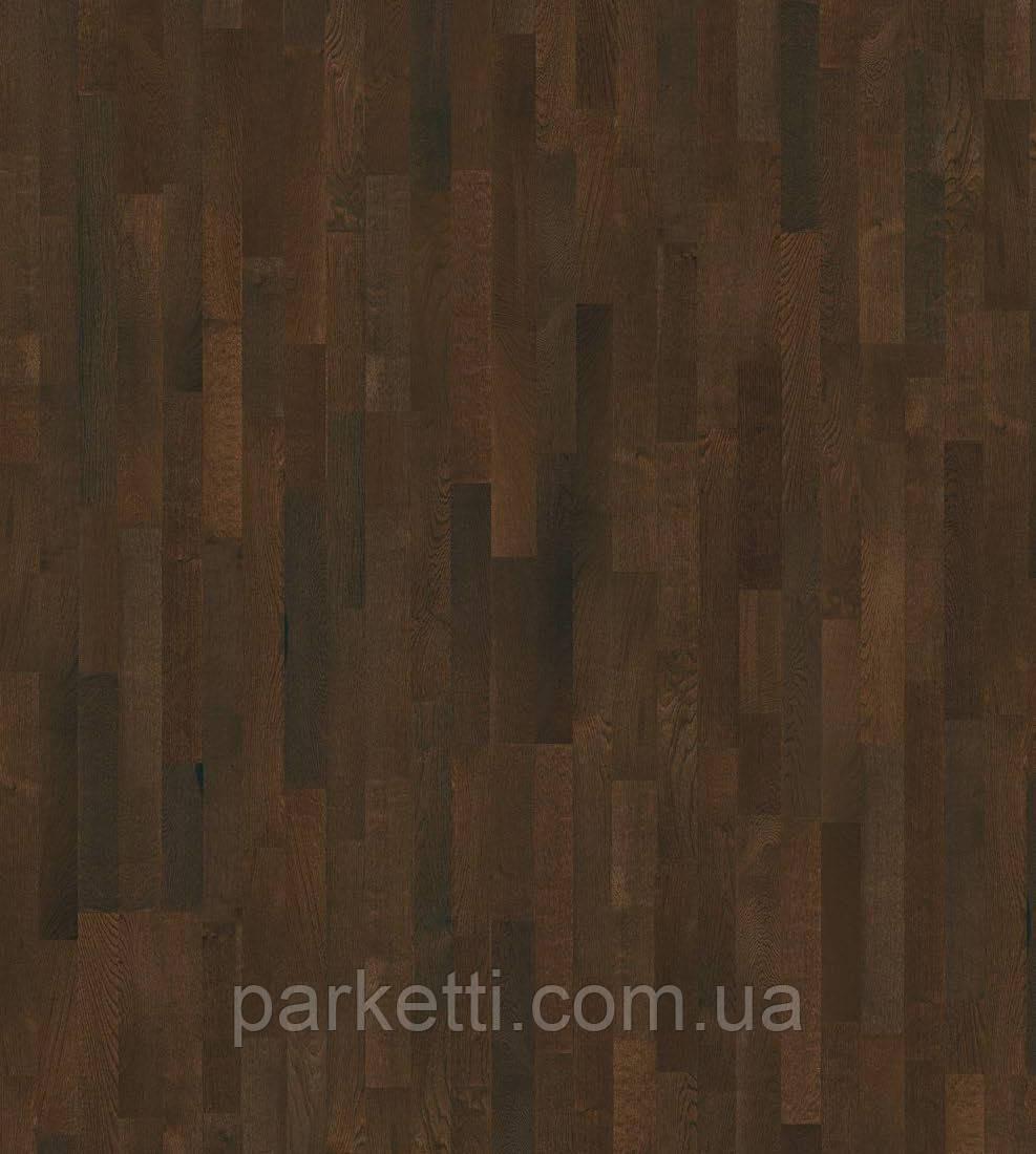 Паркетная доска Grabo Jive Дуб Какао Rustic 3-пол, лак, тонир. (B-G), фото 1