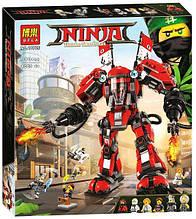 """Конструктор Bela 10720 Ninjago Movie """"Огненный робот Кая"""" 980 дет"""