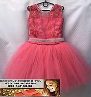 Бальное пышное платье на утренник и праздник 6 цветов куколка на  5, 6, 7 лет