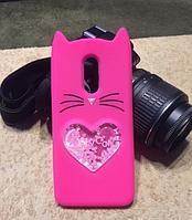 """Силиконовый 3D Чехол для Xiaomi Redmi 5 plus  """"Cat"""""""