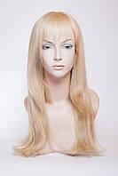Натуральный парик №7, цвет классический блонд