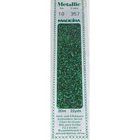 357 Madeira Metallic Perle №10 , 2-х слойные,спираль 20м.