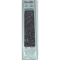 360 Madeira Metallic Perle №10 , 2-х слойные,спираль 20м.