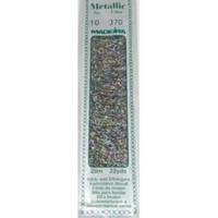 370 Madeira Metallic Perle №10 , 2-х слойные,спираль 20м.