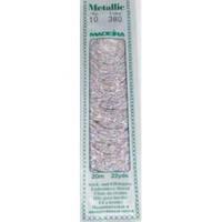 380 Madeira Metallic Perle №10 , 2-х слойные,спираль 20м.